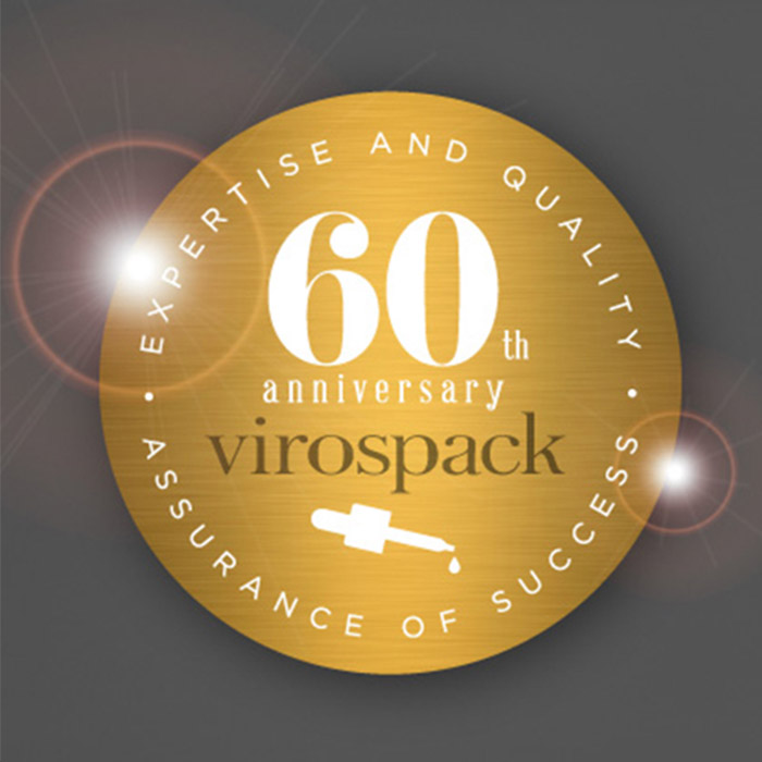 VIROSPACK 60TH ANNIVERSARY, QUALITIY AND EXPERTISE, ASSURANCE OF SUCCESS