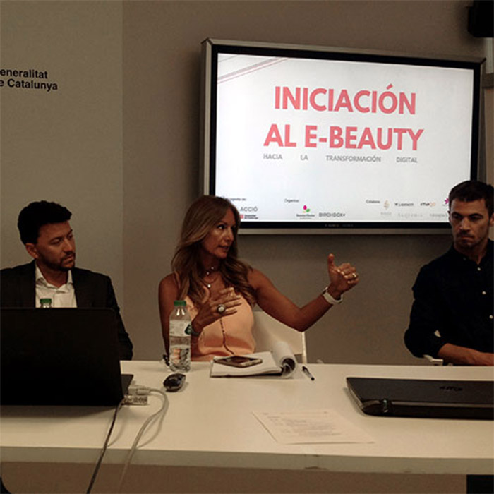 VIROSPACK, ONE OF THE EXPERT SPEAKERS IS THE FIRST SEMINAR E-BEAUTY BARCELONA.