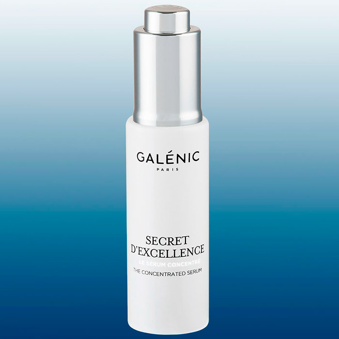 Galénic increases its range of serums with Secret d'Excellence, a high concentrated serum in a full pack by Virospack