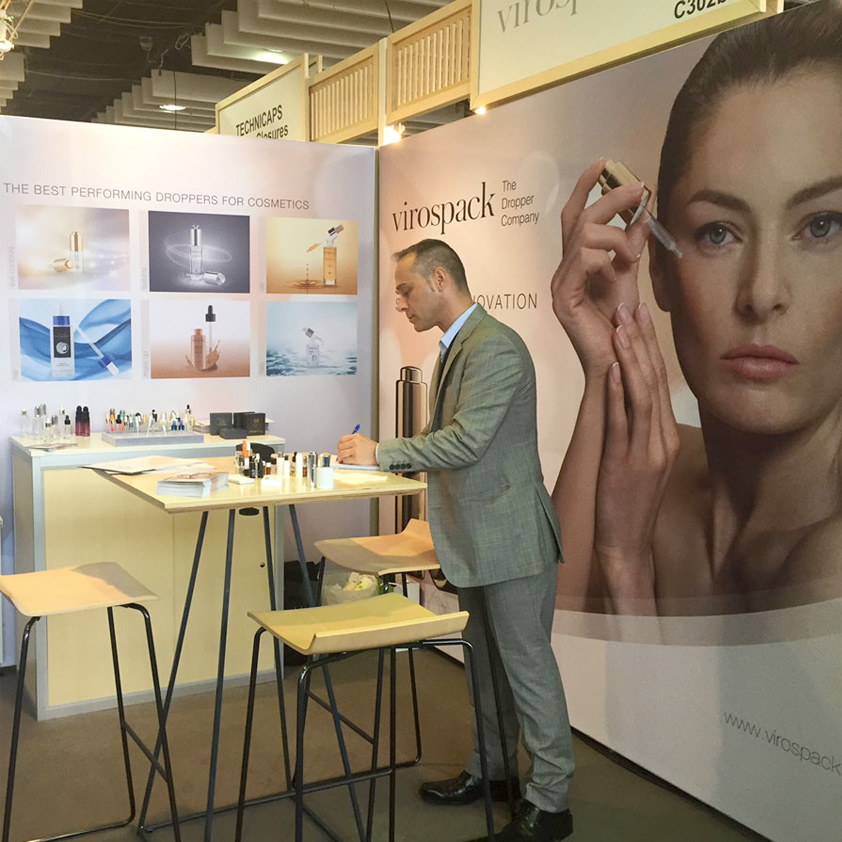 VIROSPACK THANKS ALL ITS CUSTOMERS AND COSMETIC BRANDS FOR VISITING ITS BOOTH AT LUXE PACK