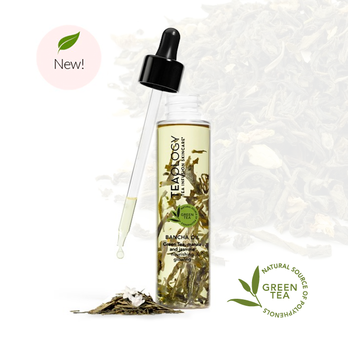 TEA INFUSION SKINCARE TECHNOLOGY IN A DROPPER BY VIROSPACK