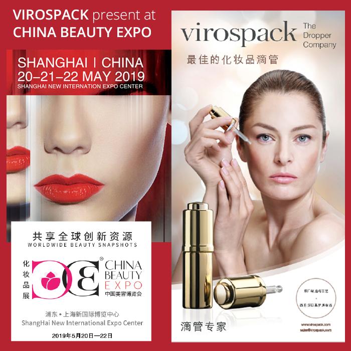 VIROSPACK PRESENTE EN CHINA BEAUTY EXPO
