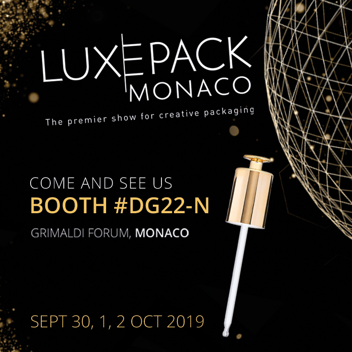 VISIT US IN LUXE PACK MONACO TO SEE THE MOST INNOVATIVE PREMIUM PROPOSALS IN PACKAGING