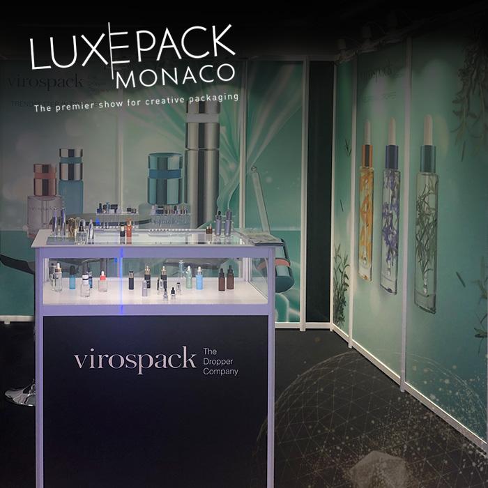 VIROSPACK muestra tendencias y acabados premium en la última edición de LUXE PACK MONACO