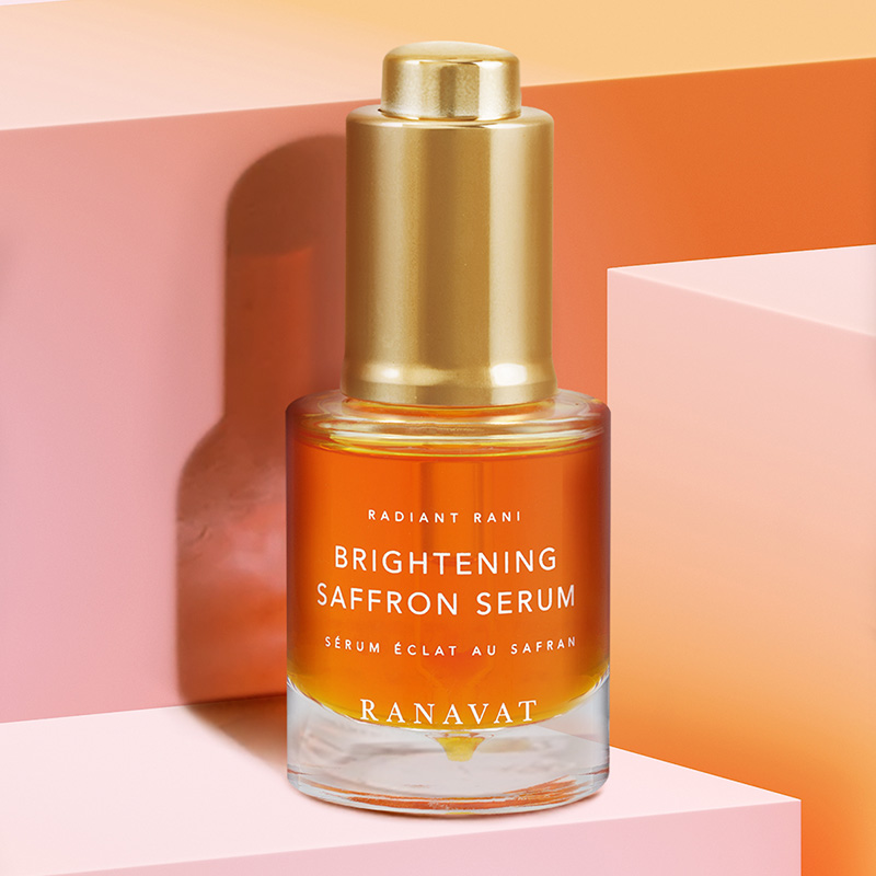 Do you know the new RANAVAT Brightening Saffron Serum?